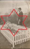 Photo 1915 CROISMARE - Cimetière Militaire, Tombe De Jacob, Tué à Emberménil (A216, Ww1, Wk 1) - Otros Municipios