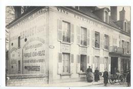 BONNEVAL : Ets E. Bouget, Vins Et Spiritueux En Gros - Ancienne Maison Cally - Rare Cliché Animé - Bonneval