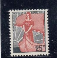 France - 1959 - N° YT 1216** - Marianne à La Nef - Francia