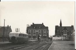 Carte Photo  - Albert - Somme - 80 - Autorail  - Réseau De La Somme - Thème Train - Transport - Albert