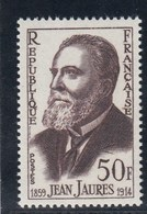 France - 1959 - N° YT 1217** - Jean Jaurès - Unused Stamps