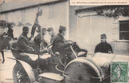 MI-MILITARIA MITRAILLEUSE AUTOMOBILE -N°T2561-H/0225 - Guerra 1914-18