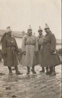 Photo 1915 Le Maréchal Des Logis Chuzeville, Chef Jandot, Douard, Morel, Dragons (A216, Ww1, Wk 1) - Guerra 1914-18