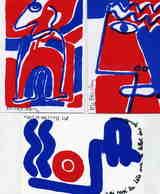 ILLUSTRATEUR    ILL  677   / ATELIER A M BOUCHER  / 3 CARTES  1989   /   THEME REVOLUTION     CPM / CPSM   10 X 15 - Autres Illustrateurs