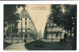 CPA-Carte Postale-France-Reims- Rue Thiers En 1927 VM9767 - Reims
