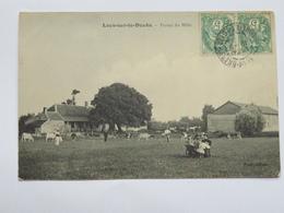 C. P. A. : 71 : LAYS SUR LE DOUBS : Ferme Du Môle, Animé, Timbre En 1905 - Andere Gemeenten