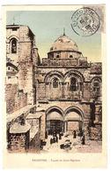 PALESTINE - Façade Du Saint-Sépulcre - Carte Colorisée - Palestine