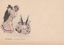 Les Mois De L'Année.  Décembre.- Le Palais De Glace.   Scan - Ilustradores & Fotógrafos