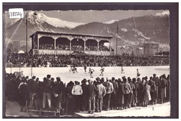 DAVOS - EISHOCKEY STADION - B ( PLI D'ANGLE ) - GR Grisons