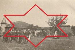 Photo 1915 Ferme De BEAULIEU à MARAINVILLER (Croismare Près Lunéville) - Le Père Poidebard Disant La Messe (A216, Ww1) - Francia