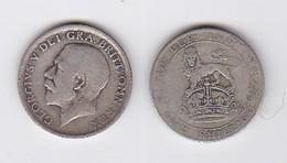 2 Pièces GEORGES V - ONE SHILLING  (1917-1922) - Inde