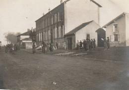 Photo 14-18 MONCEL-LES-LUNEVILLE - La Poste Et La Mairie (A216, Ww1, Wk 1) - Otros Municipios