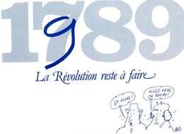 ILLUSTRATEUR    ILL  678   / BUZ  1989   / 3 CARTES   THEME REVOLUTION     CPM / CPSM   10 X 15 - Autres Illustrateurs