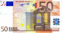 FRANCE - 50.00 € 2002 - Duisenberg - U15290713121 -  - L010A3 -circulé Voir Scan - EURO