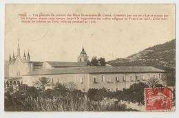 06-100 - Nice - Vue Générale Du Couvent Des Pères Franciscains De Cimiez - Monuments, édifices