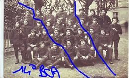 Armée Française14°  BCA  TROUPE - Krieg, Militär