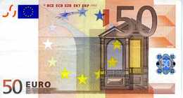 ALLEMAGNE - 50.00 € 2002 - Duisenberg - X02180427986 -R004D4 -circulé Voir Scan - 50 Euro