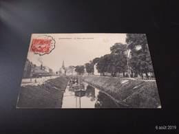 CPA (59) Dunkerque. Le Quai Des Jardins.   (H.453). - Dunkerque