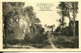 N°78337 -cpa Cholet -ruines Du Vieux Château De La Tremblaye- - Cholet