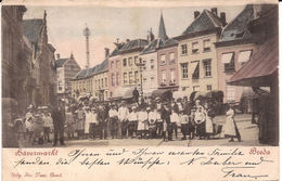 BREDA HAVERMARKT Ca 1903 Nr Duitsland Zegel Weg 898 Mp - Breda