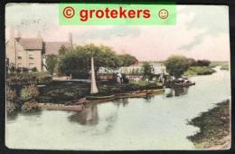 SWINDON Neighbourhood Sent ± 1916 To Uccle (B) German Censor Mark - Altri