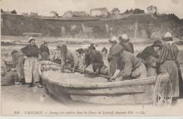 """35 CANCALE """" Lavage Des Huitres Dans Les Parcs...° - Cancale"""