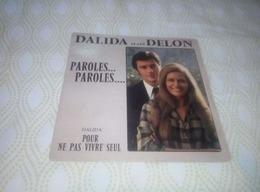 """DALIDA ALAIN DELON """"Paroles...Paroles..."""" - Vinyl-Schallplatten"""