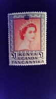 Kenya Uganda Tanganyika KUT 1954 Elisabeth II Yvert 101 ** MNH - Kenia (1963-...)
