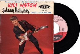 EP JOHNNY HALLYDAY - VOGUE EPL 7812 - 1960 - EXCELLENT ETAT - EX / VG+ - Rock