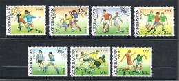 AZERBAÏDJAN  Y & T N° 149/155  Coupe Du Monde Football 1994 - Azerbaïdjan