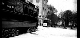 Berlin Plaques De Verre Années 1890/1910 - Tramways, Fiacres, Attelages - Diapositivas De Vidrio