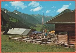 AUSTRIA - ÖSTERREICH - AUTRICHE - Tirolo - Lechtal - Elmen - Jausenstation Stablalpe 1362, Mit Blick Auf Die Lechtaler A - Lechtal