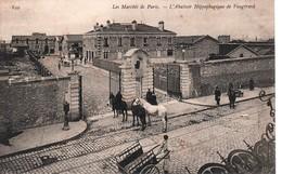 MARCHES  DE PARIS-L'Abatoirs Hippophagique De Vaugirard-Animé- Non Circulé - Markets