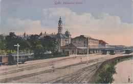 AK Györ Raab Rab Palyaudvar Belseje Vasútállomás Bahnhof Gare Train Railway Station Ungarn Magyarorszag Hongrie Hungary - Ungarn