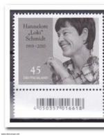 Duitsland 2019, Postfris MNH, Hannelore Schmidt - [7] West-Duitsland