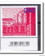 Duitsland 2019, Postfris MNH, 100 Years University Hamburg - [7] West-Duitsland