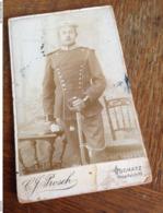 OSCHATZ - WERMSDORF - C. J. PROSCH - DEUTSCHER MANN DAZUMAL - SOLDAT MIT SAEBEL - Krieg, Militär