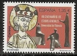 2018-ED. 5241 - VIII Centenario De Los Estudios Generales (Universidad De Palencia) - NUEVO- - 2011-... Ungebraucht