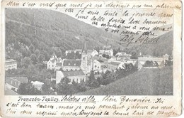 Trencsen - Teplitz -obliteration - Eslovaquia