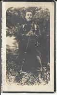 Mortuaire Grégoire Jurion Caporal, Bonne Espérance Le 23-7-1896 Tombé Au Champ D'Honneur Steenstaart 1915 1914-18 - Religion & Esotérisme