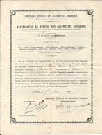 PATENTE . EPICIER VALBONNE .06 .AUTORISATION DEBIT ALLUMETTES CHIMIQUES - Historische Dokumente