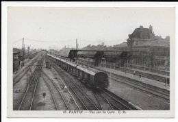 PANTIN - Vue Sur La Gare - Pantin