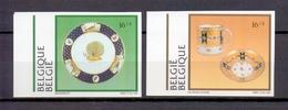 2566/2567 PORSELEIN  ONGETAND  POSTFRIS** 1994 - Belgique