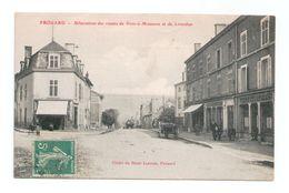 CPA 54 FROUARD / BIFURCATION DES ROUTES DE PONT A MOUSSON ET DE LIVERDUN - Frouard