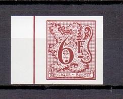 1998 HERALDIEKE LEEUW 6FR. ONGETAND 1981 - Belgique