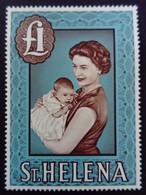 Sainte Hélène St Héléna 1961 Elisabeth II Yvert 154 ** MNH - St. Helena