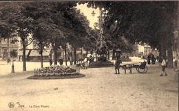 Spa - La Place Royale (attelage Chèvre, Animée) - Spa