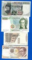 Italie  9  Billets - [ 2] 1946-… : Républic