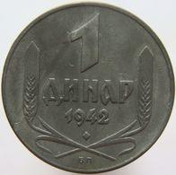 Serbia 1 Dinar 1942 XF / UNC - Serbie