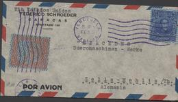 3452    Carta  Aérea  Caracas   Venezuela, - Venezuela